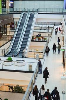 Escalator, Shopping Mall, Shopping, Stairs, Mobile