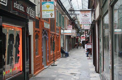 Arcade, Shopping, Mall, Store, Shop, Passage, Paris
