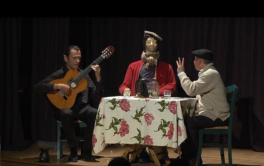 Put In Scene, Theatre, Show, Monologue