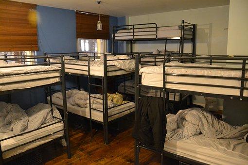 Beds, Bunk Beds, Sleeping, Bedroom, Home, Interior
