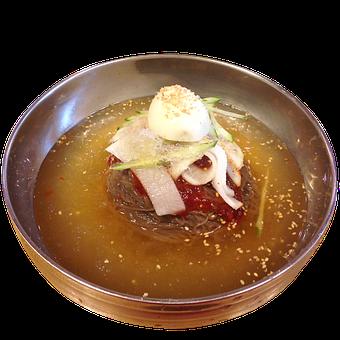 Korean Food, Water Noodle, Cold Noodle, Summer Food