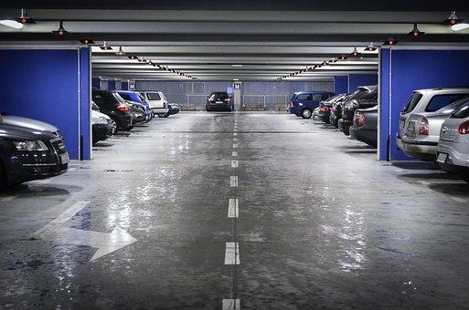 Parking, Underground Parking, Cars, Multilevel