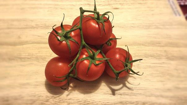 Tomatoes, Red, Vegetable, Healthy, Organic, Vegetarian