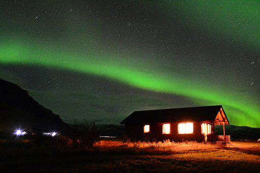 Iceland, Vik, The South, The Northern Lights