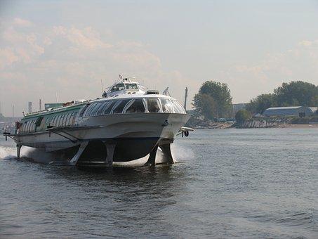 Water, Meteor, Rocket, St Petersburg Russia