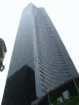 Building, Tower, Skyscraper, Architect, Apartment