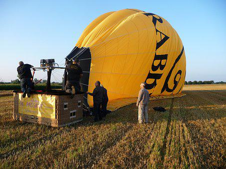 Balloon Flight, Air, Freedom, Ballooning