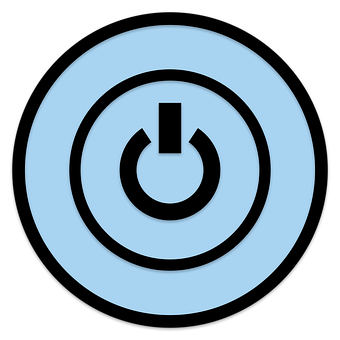 Icon, Power, Button, Push, Switch, Press, Symbol