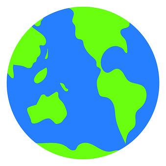 Spherical, Planet, Shape, Earth, World, Map, Graphic