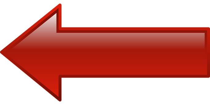 Arrow, Left, Pointing, Shape, Directional, Button, Sign