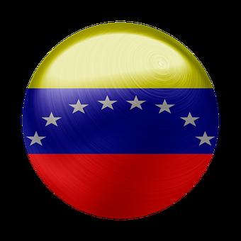 Venezuela, Flag, Country, Nation, Symbol, National