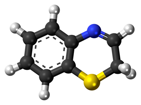 Benzothiazine, Molecule, Compound, Chemical, Research