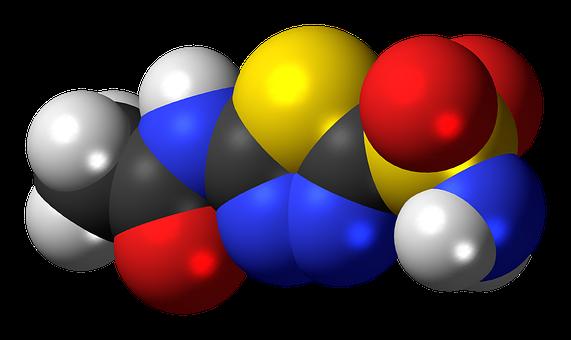 Acetazolamide, Diuretic Drug, Molecule, Structure