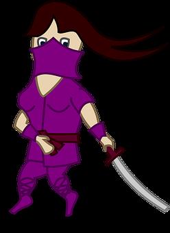 Woman, Character, Person, Ninja, Karate, Female