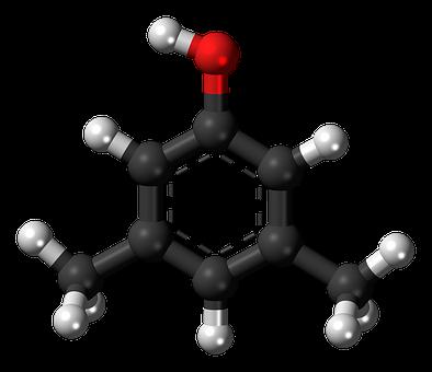 Xylenol, Molecule, Chemistry, Atoms, Model, Bondings