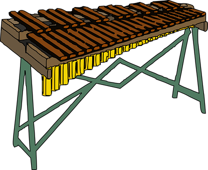 Xylophone, Sticcado, Instrument, Music, Huge, Wooden