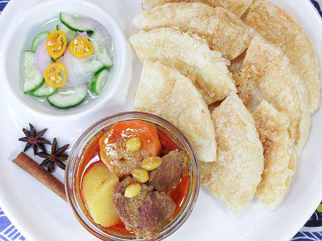 Beef Or Chicken Mussaman Curry, Food, Delicious
