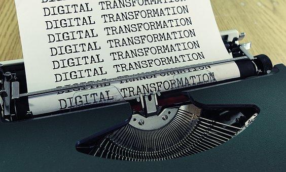 Typewriter, Digital, Transformation