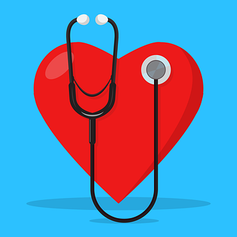Stethoscope, Heart, Doctor, Medical, Health, Care
