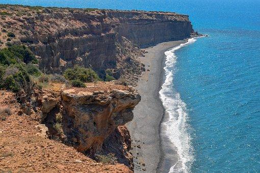 Cyprus, Avdimou, Melanda Beach, Beach, Pebbles