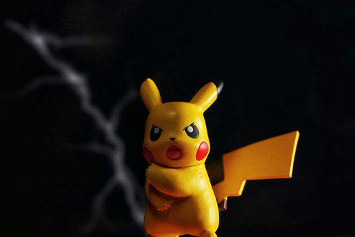 Toys, Pokemon, Photography, Lightning, Angry, Cute