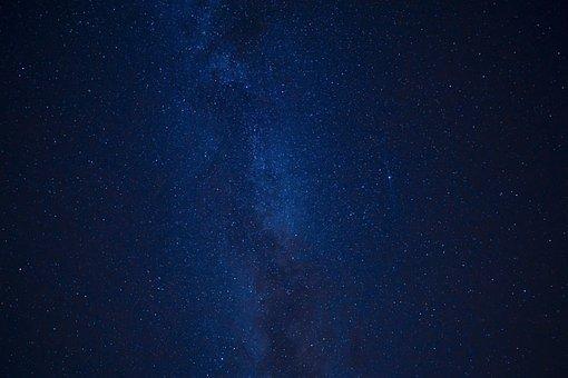 Stars, Galaxy, Milky Way, Night, Night Sky, Summer