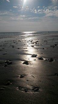 Beach, Stones, Sea, Coast, Water, Ocean, Landscape