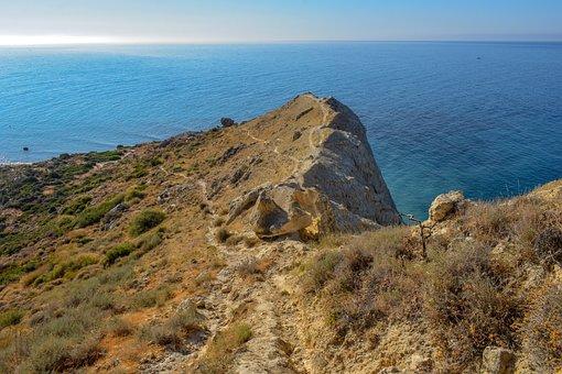 Cape, Sea, Horizon, Path, Wilderness, Landscape, Trail