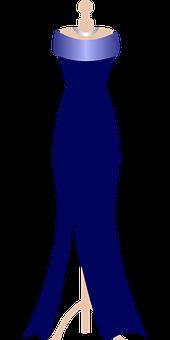 Dress, Design, Gown, Long, Mannequin
