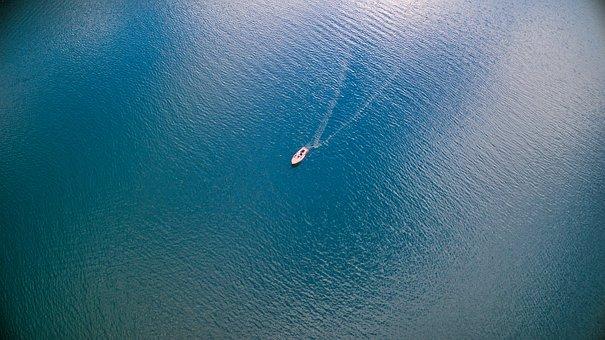 Boat, Drive, Water, Romantic, Nature
