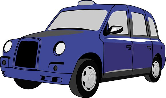 Blue, British, Taxi, London, Travel, Tourism, England