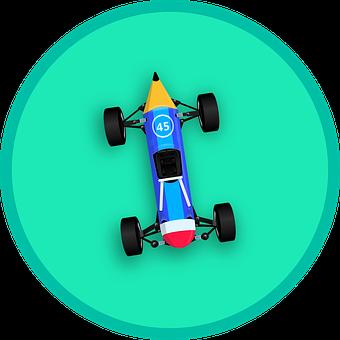 Pencil, Car, Race, Transport, Sharp