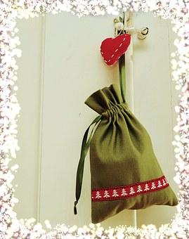 Christmas, Christmas Card, Christmas Greeting, Bag