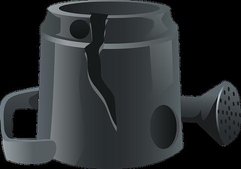 Watering Can, Ewer, Garden, Gardening, Can, Pot
