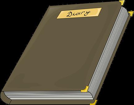 Diary, Hardbound, Hard Cover