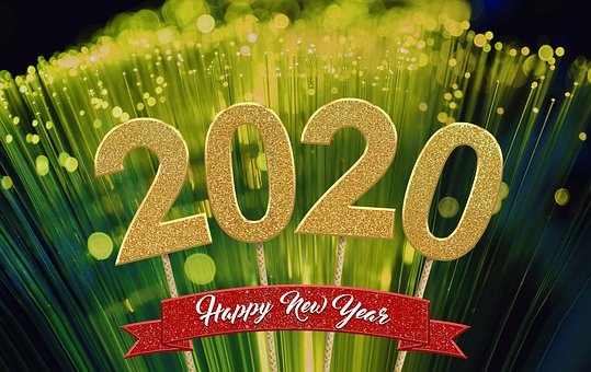 Happy Year, New Year, New Year's Eve, 2020, Celbration