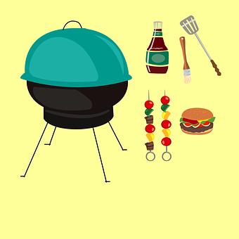 Barbeque, Spatula, Burger, Vacation, Cook