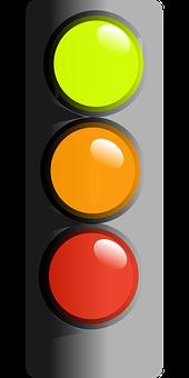 Traffic, Light, Stop, Caution, Go