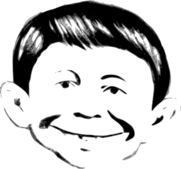 Alfred Neuman, Mad Magazine, Face, Famous, Cartoons