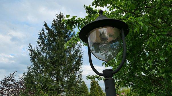 Replacement Lamp, Garden, Park, Lantern