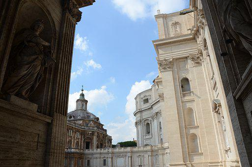 St Peter's Basilica, Rome, Architecture, Italy, Vatican