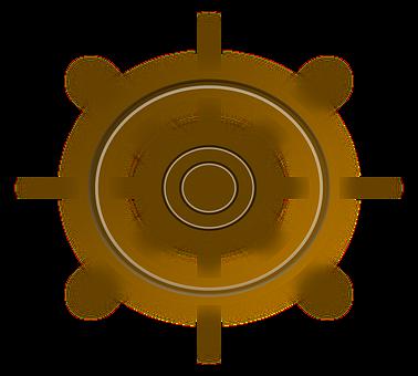 Wheel, Wood, Ship, Steering, Navigation