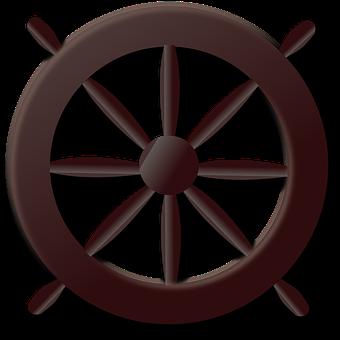 Wheel, Steering Wheel, Pirates, Sailing