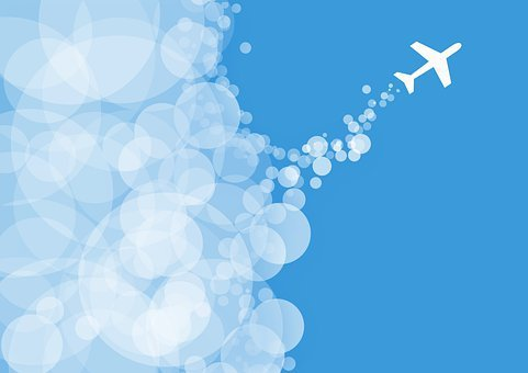 Aircraft, Sky, Travel, Flying, Aviation, Air, Traffic