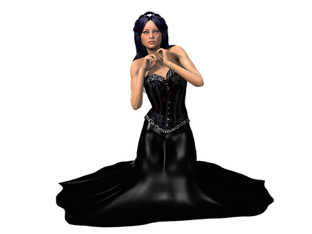 Woman, Dress, Clothing, Femininity, Elegant, Model