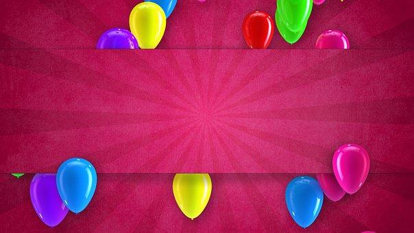 Birthday, Helium, Holiday, Party, Baloon, Balloon
