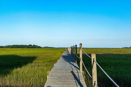 Boardwalk, Walkway, Seaside, Trail, Ocean, Scenic