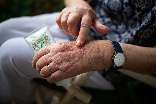 Hand Cream, Elderly, Skin Care