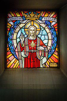 Church Window, Jesus, Church, Window, Stained Glass