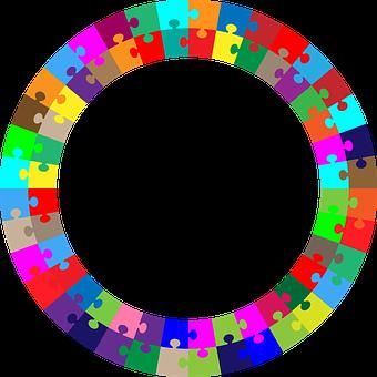 Puzzle, Border, Frame, Geometric, Jigsaw